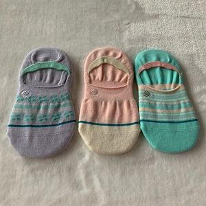 (3) STANCE KIDS GAMUT INVISIBLE SOCKS Size M